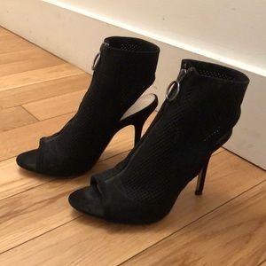 Zara Zip Up Heels